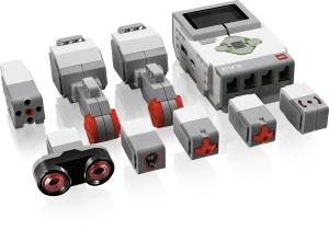EV3:n sensorit ja moottorit