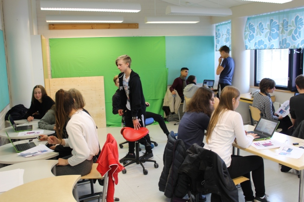 saksalaiset vieraat ja tutor-oppilaat
